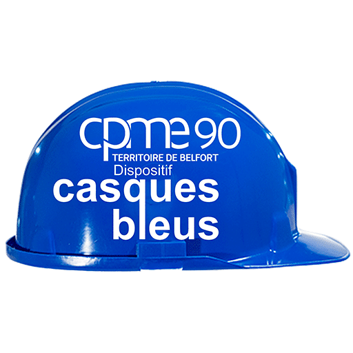 Casques Bleus CPME90 Logo